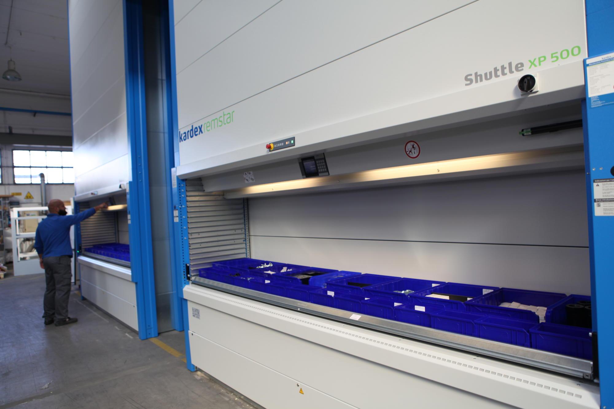 magazzino verticale EMC